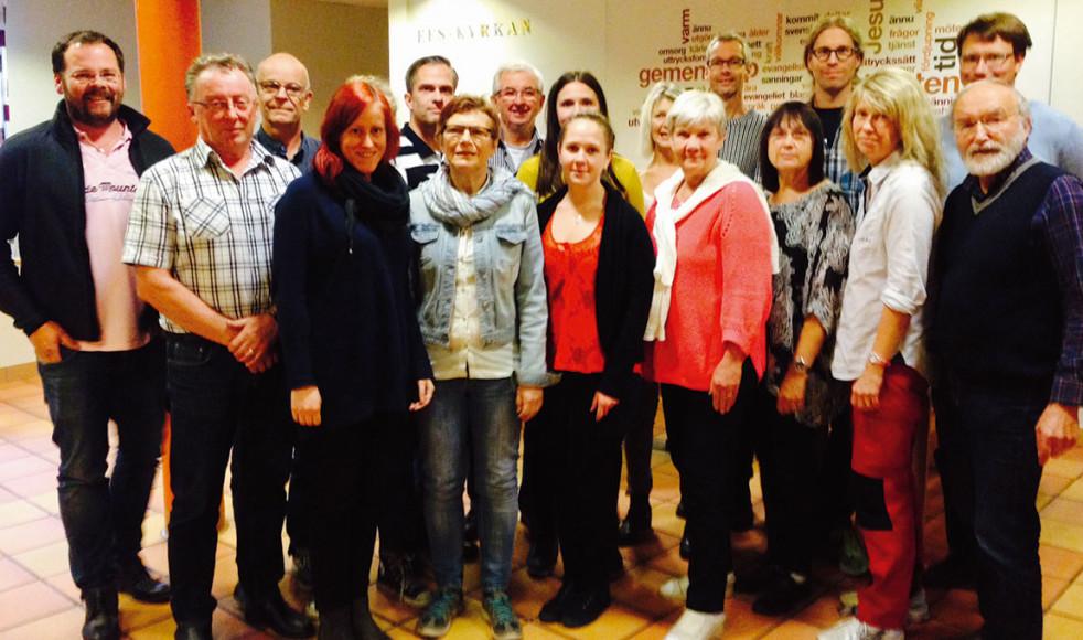 Här ser vi samtliga deltagare i första omgången av TNA Norr som möttes i EFS-kyrkan, Skellefteå.