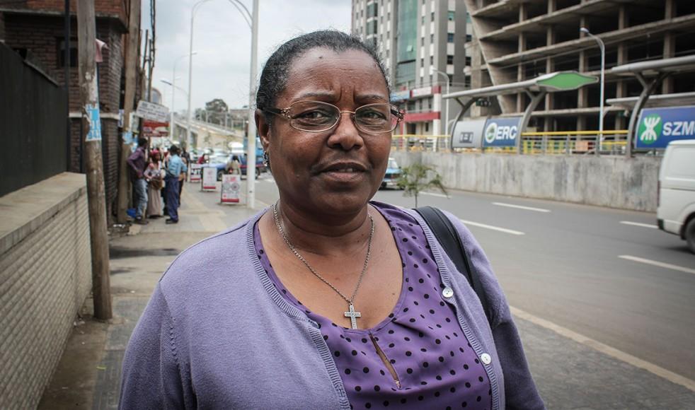 – Målet är att människor ska bli självförsörjande, säger Tadelech Loha, samordnare för Mekane Yesus-kyrkans kvinnoarbete.