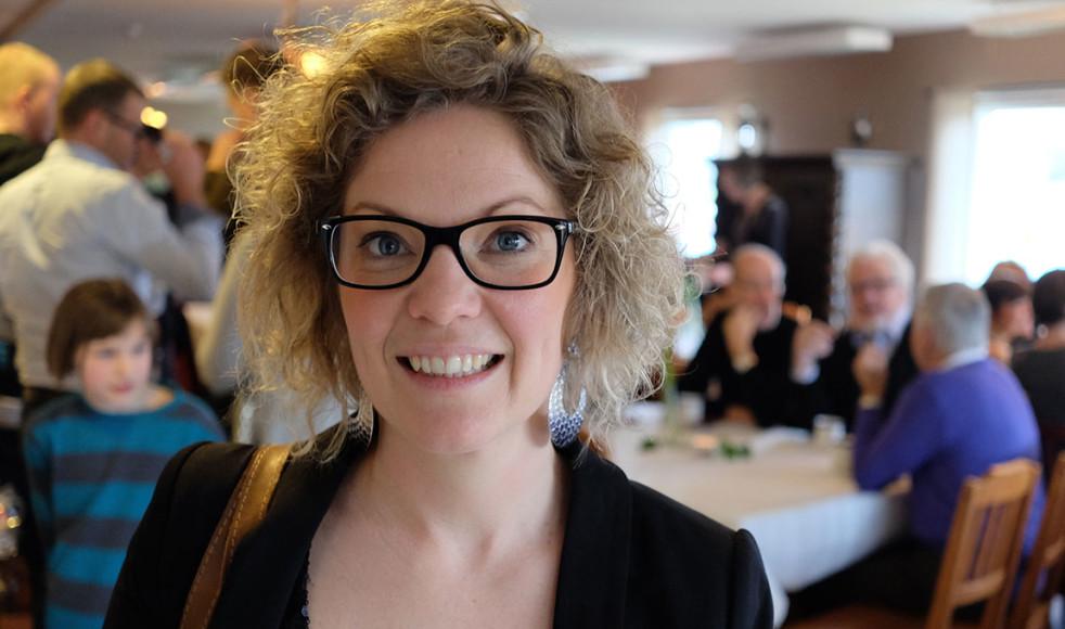 – Vi vill se människor komma vidare och närmre Gud, säger Rebecca Nordén om visionen bakom konferensen som lockar såväl den egna EFS-föreningens medlemmar samt kringliggande kyrkor och tillresta deltagare.