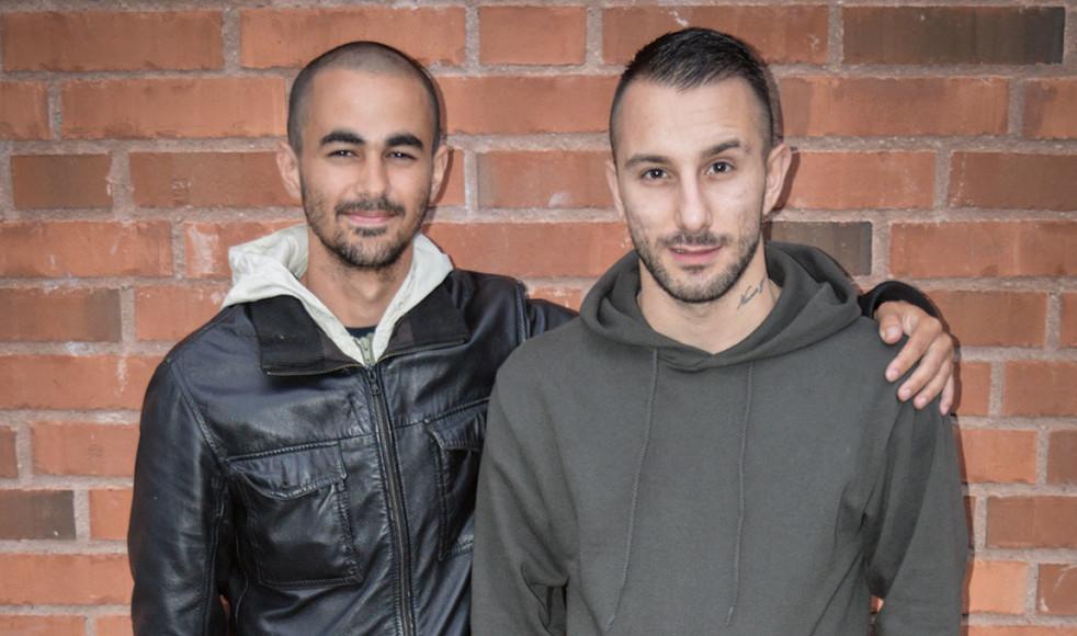 Sami och vännen Emilio.