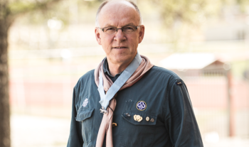 Unik utmärkelse till scoutlegendar