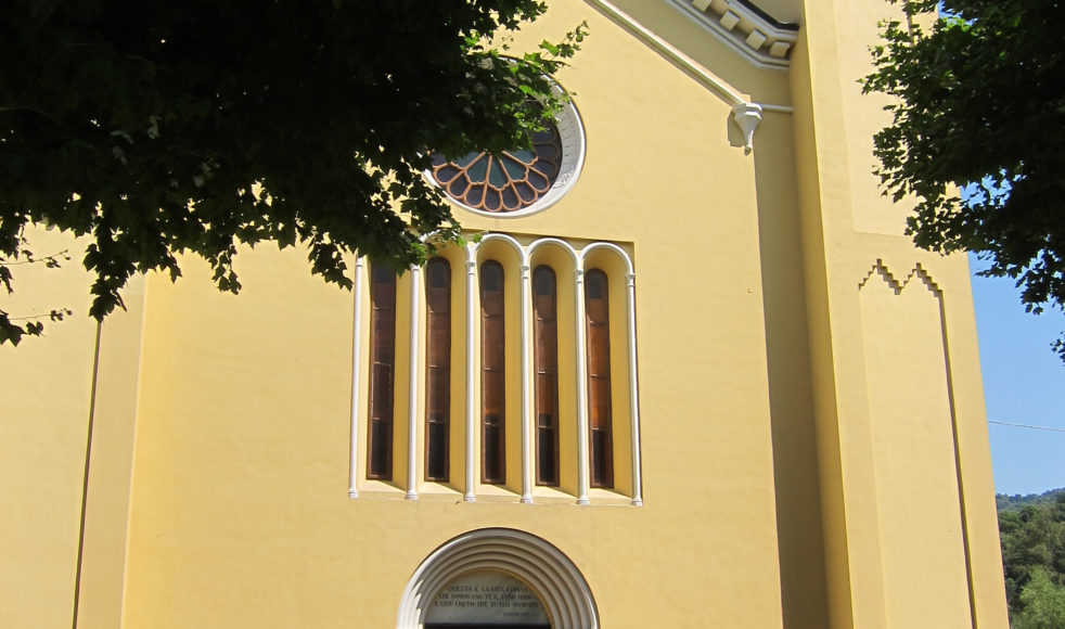 Huvudkyrkan i Torre Pellice