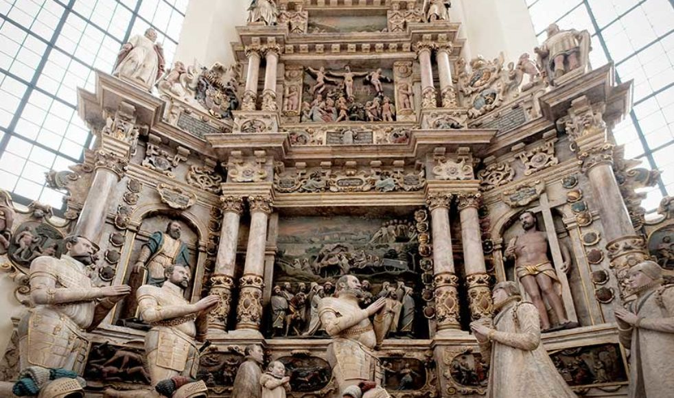 Under påsken 1530 predikande Luther återkommande i S:t Morizkyrkan.