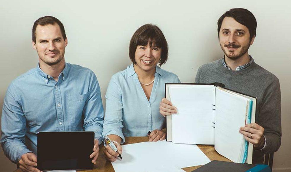 Ansvar och gott förvaltarskap ligger ekonomerna Simon West, Annika W Gunnarsson och David Odebäck varmt om hjärtat.