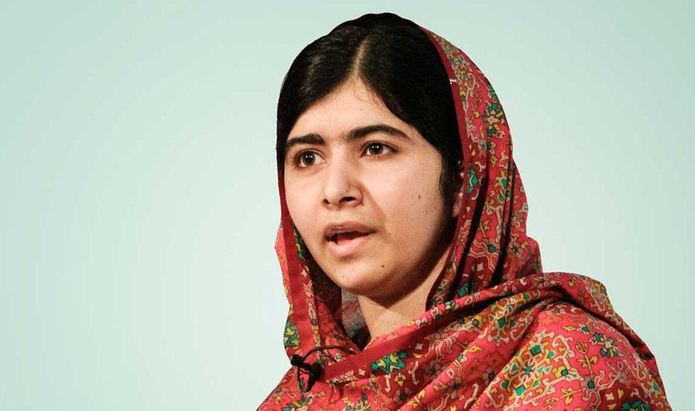 Malala Yousafzai var en av de modiga människor föreläsaren Brian Palmer berättade om.