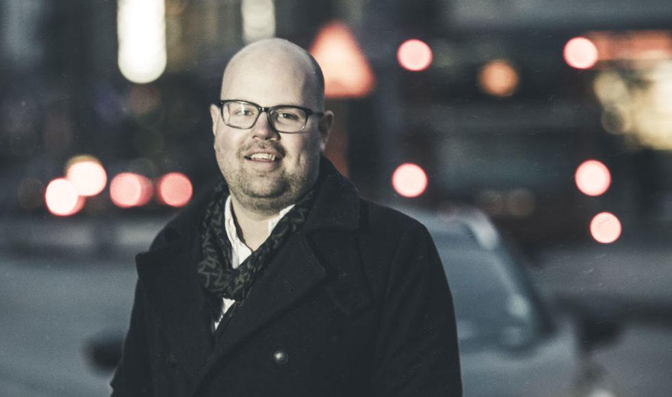Tobias Sturesson driver tillsammans med sin fru företaget Heart Management.