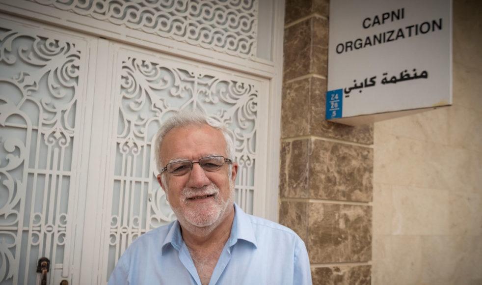 Fader Emanuel Youkhana, chef för EFS samarbetsorganisation CAPNI i staden Duhok. Bild: Johan Ericson