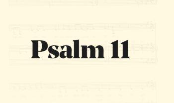 11: O store Gud