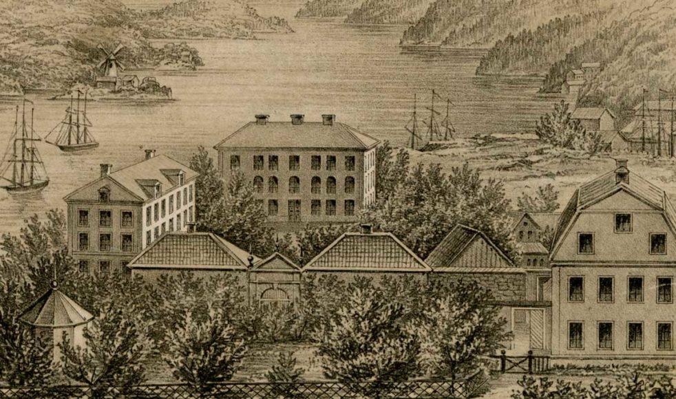 Ersta diakoni i Stockholm, där Bengta började sin bana som sjuksköterska och senare diakonissa. Bild: Ersta diakoni