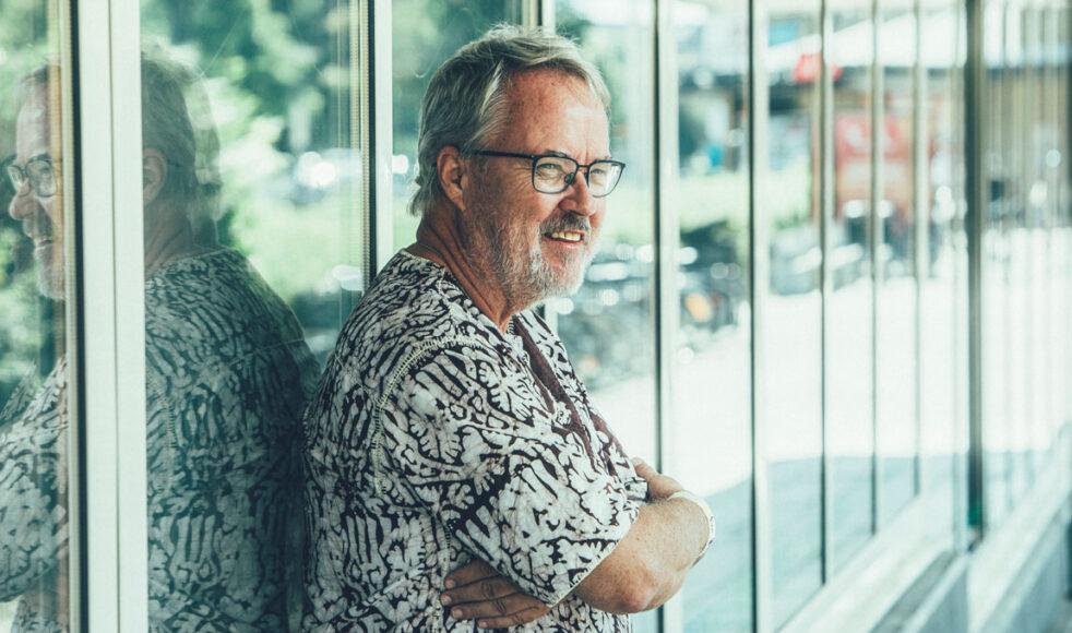 Ett av Ulf Ekängens ledord i livet är: »Där händer möts, där händer det något«.