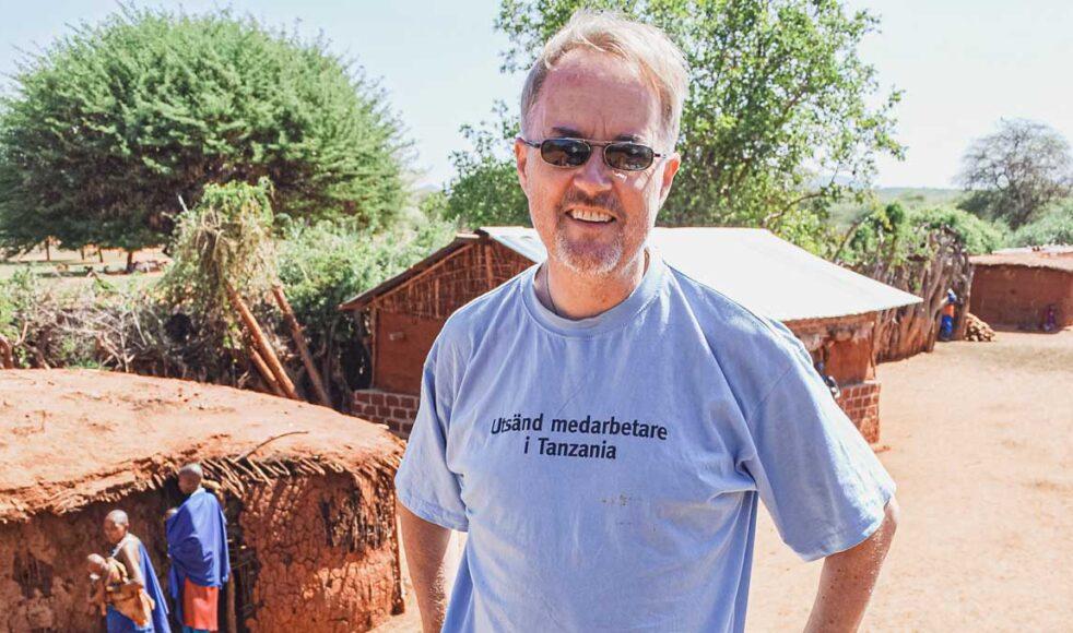 8-2020-Ulf-Ekangen4Efter 28 år i tjänst för EFS går missionären Ulf Ekängen nu i pension. – Min kropp är visserligen i Sverige men själen i Tanzania. Bild: Hans Hägglund