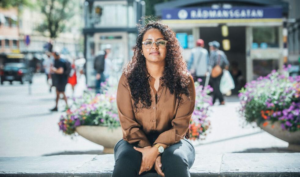 Elilta kom ensam till Sverige. Idag brinner hon för att sprida evangelium till svenskarna. Bild: Rickard L Eriksson