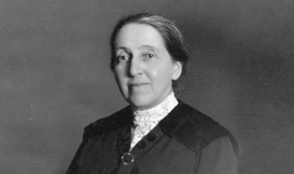 Elsie Winqvist, född 1863–09–04, död 1957–12–22. Bilder: EFS arkiv