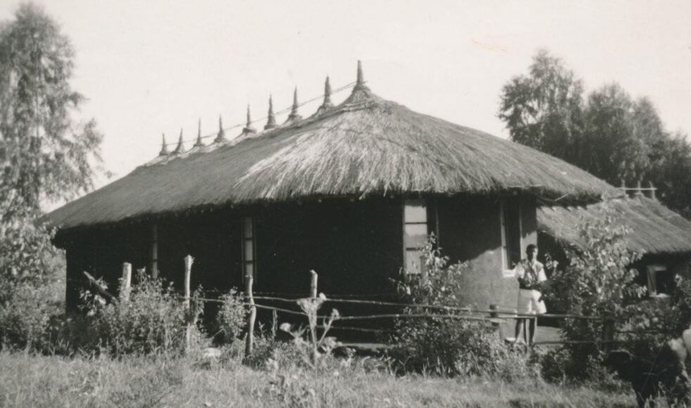 Sjukstugan i Mendi, där Lydia verkade mellan 1948 och 1959.