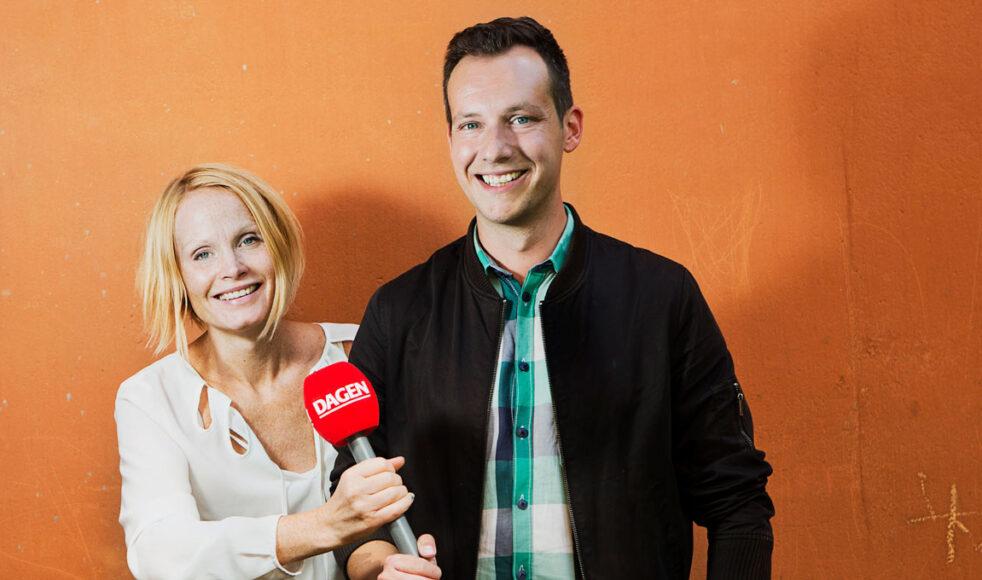 Poddveteranerna Malin Aronsson och Daniel Wistrand berättar hur man producerar en långlivad podcast. Bild: Natanel Gindemo