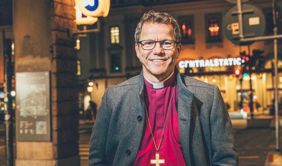 Andreas Holmberg är biskop i Stockholms stift. Bilder: Rickard L. Eriksson