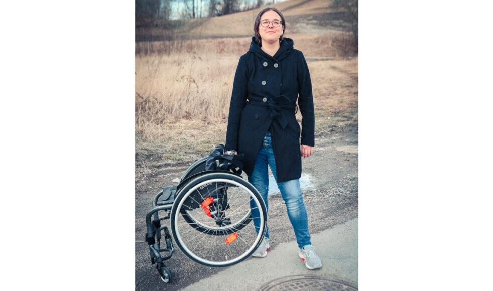 Nea Mustonen blev helad från en kronisk sjukdom och nu vill hon inget hellre än att vittna om Guds godhet. Bild: Per Danielsson