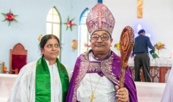 Indisk biskop har dött