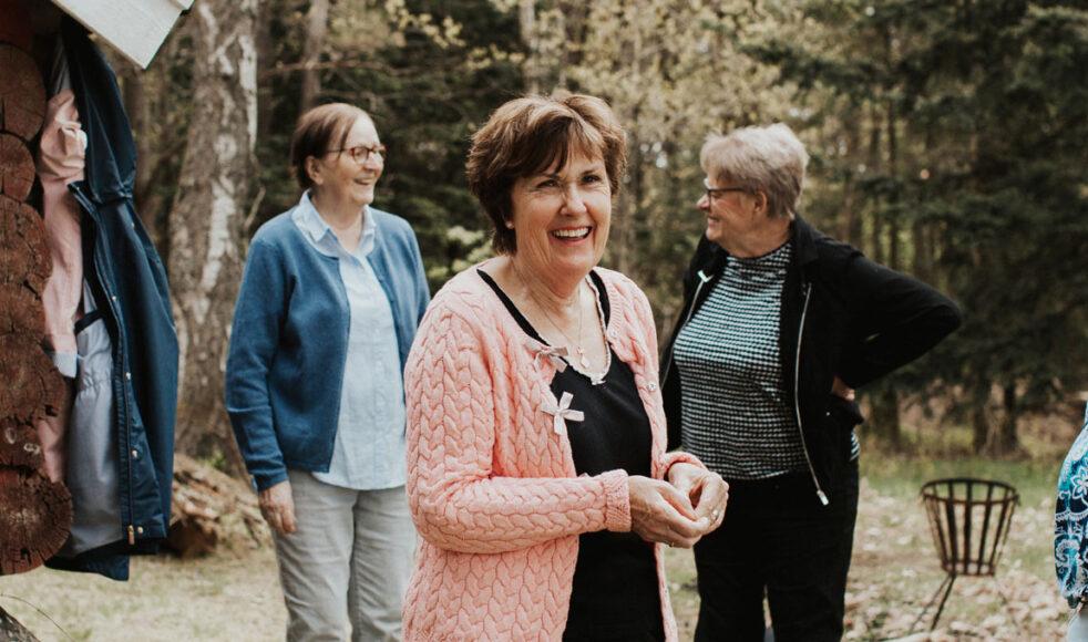 Inga-Lill och hennes man Ebher var två av dem som var med från start när Öjersjökyrkan invigdes 2012.  – När man tänker tillbaka till den tiden så har vi fått vara med om en fantastisk resa.