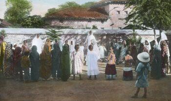 Ivrigt EFS inleder arbete i Indien – 1880-talet