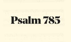 785: Ge oss mod att våga leva