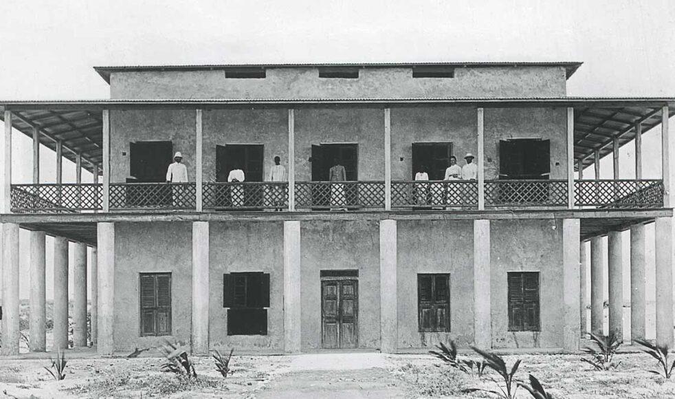 Missionsstationen i Kismayo.